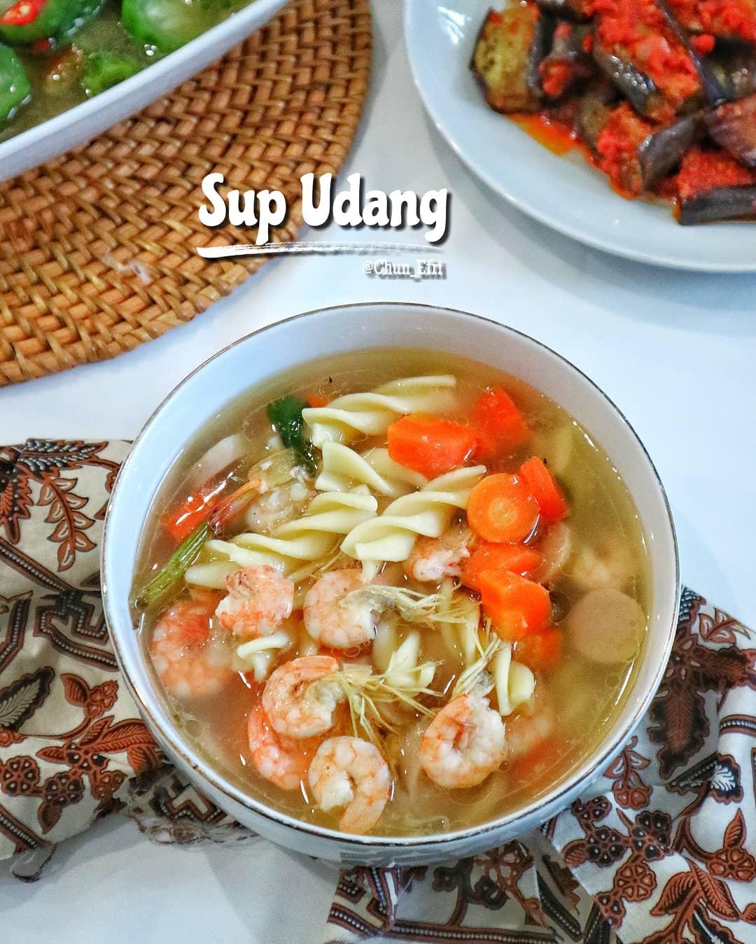 Resep Sup Udang Bening Yang Enak
